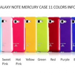 case samsung Note2 Mercury