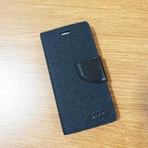 เคสไอโฟน 6/6S ฝาพับ สีดำ