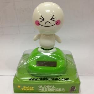 ตุ๊กตาไลน์ มูน พลังงานแสงอาทิตย์ ขยับ ดุ๊กดิ๊ก Solar Dancing Toy