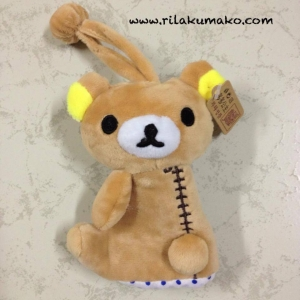ที่เก็บกุญแจ ดึง เข้า-ออกได้ ลาย หมี ริลัคคุมะ Rilakkuma
