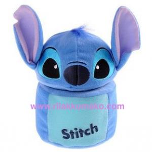 อุปกรณ์แต่งรถ ลาย Stitch สติช ที่ใส่เหรียญหรือของกระจุ๊กกระจิ๊กในรถ