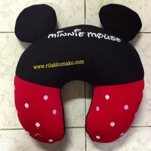 หมอนรองคอ ตัวยู มินนี่เมาส์ Minnie Mouse เม็ดโฟม