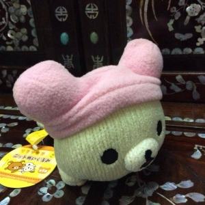 ตุ๊กตาหมี โคะริลัคคุมะ สีครีม san-x ขนาด 8 นิ้ว