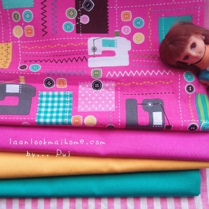 ผ้าคอตตอนสั่งจากอเมริกาขนาด 22.5 x 27.5cm +ผ้าพื้นในไทย 3 โทน ขนาด25x27.5 cm สั่งหลายจำนวนผ้าต่อกันค่ะไม่ตัดแยก