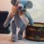 ตุ๊กตาหมีผ้าฝ้ายสีฟ้าขนาด 17 cm. - Bobble thumbnail 3