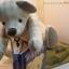 ตุ๊กตาหมีผ้าทอญี่ปุ่นขนาด 25 ซม. - Nap thumbnail 5