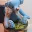 ตุ๊กตาหมีผ้าฝ้ายสีฟ้าขนาด 17 cm. - Bobble thumbnail 6
