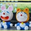 [Preorder] โมเดล Doraemon 1 เซ็ทมี 6 แบบ (Version 2) A Dream car Decoration doll Zodiac robot cat cartoon car accessories Tanabata Valentine's Day gift thumbnail 5