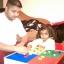 Tot Tutors Kids Building Table FOR Lego, Mega Blocks + 2 Chairs สุดคุ้มเป็นโต๊ะอเนกประสงค์ พร้อมเก้าอี้ 2 ตัว คลิ๊กดูภาพด้านในค่ะ thumbnail 7