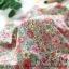 ผ้าคอตตอนเกาหลีลายดอกไม้ thumbnail 4