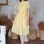 เดรสลายฉลุสีเหลืองสวยหวาน thumbnail 4