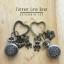 เซทนาฬิกาพวงกุญแจคู่รัก Little LOVE Bear