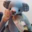 ตุ๊กตาหมีผ้าฝ้ายสีฟ้าขนาด 17 cm. - Bobble thumbnail 4