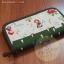 กระเป๋าสตางค์ใบยาวงานควิลท์-ผ้าคอตตอนญี่ปุ่น+คอตตอนไทย(ด้านใน) thumbnail 1