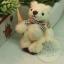 ตุ๊กตาหมีผ้าขนสีครีมขนาด 6.5 cm. - BeanBear thumbnail 3