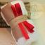 เซตผ้าขนปุยสำหรับเย็บตุ๊กตาหมี - โทนสีขาว white thumbnail 2