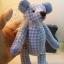 ตุ๊กตาหมีผ้าฝ้ายสีฟ้าขนาด 20 cm. - Friday thumbnail 6