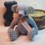ตุ๊กตาหมีผ้าฝ้ายสีฟ้าขนาด 17 cm. - Bobble thumbnail 2