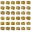 กระปุกถังออมสินรูปหัวใจสายยูคาดทอง ขนาด 7 นิ้ว thumbnail 10