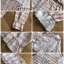 Set เซ็ตเสื้อแขนกุดตกแต่งโบด้านข้างและกางเกงขาสั้นสีเบจ thumbnail 11