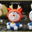 [Preorder] โมเดล Doraemon 1 เซ็ทมี 6 แบบ (Version 2) A Dream car Decoration doll Zodiac robot cat cartoon car accessories Tanabata Valentine's Day gift thumbnail 4