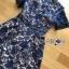 เดรสผ้าลูกไม้สีน้ำเงินซับในสีนู้ด thumbnail 5
