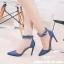(พร้อมส่ง)รองเท้าคัทชู ส้นสูง แฟชั่น ราคาถูก มีไซด์ 40