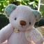 ตุ๊กตาหมีผ้าขนสีชมพูขนาด 18 cm. - Roll thumbnail 3