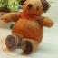 ตุ๊กตาหมีขนสั้นสีน้ำตาลขนาด 9.5 cm. - Niza thumbnail 5