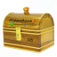 กระปุกถังออมสินแบบกำปั่นสายยูคาดทอง ขนาด 7 นิ้ว thumbnail 5