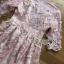 ค็อกเทลเดรสผ้าชีฟองสีชมพูปักดอกไม้ ตัวนี้เหมาะกับสาวหวาน thumbnail 8