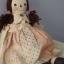 ตุ๊กตาผ้าเด็กผู้หญิงคันทรี่สูง 34 cm. - country doll ( girl ) thumbnail 4