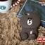เคส iPhone 5/5s - หมี Brown Line thumbnail 2