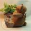 ตุ๊กตาหมีขนสั้นสีน้ำตาลขนาด 9.5 cm. - Niza thumbnail 2