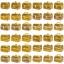 กระปุกถังออมสินแบบกำปั่นสายยูคาดทอง ขนาด 7 นิ้ว thumbnail 10