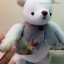 ตุ๊กตาหมีผ้าขนสั้นสีขาวขนาด 20 cm. - PomPom(size S) thumbnail 5