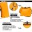 Maomaobag กระเป๋าสะพายแฟชั่นสีเหลือง ทรงเก๋ มินิไซส์ thumbnail 9