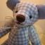ตุ๊กตาหมีผ้าฝ้ายสีฟ้าขนาด 20 cm. - Friday thumbnail 1