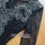 จัมป์สูทผ้าลูกไม้และผ้าเครปสีดำ thumbnail 6