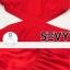 Maxi เดรสยาวสีแดงสดใส ดีเทลผูกเป็นโบว์ช่วงบ่า เอวว้าวข้างถึงหลัง thumbnail 4