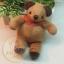 ตุ๊กตาหมีขนสั้นสีน้ำตาลขนาด 9.5 cm. - Niza thumbnail 1