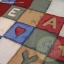 Teddy And Toys Quilt Blocks Red/Brown/Blue thumbnail 1