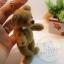 ตุ๊กตาหมีผ้าขนสั้นน้ำตาลกลาง ขนาด 11 cm. - Tubbyted thumbnail 3