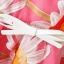 [Preorder] เดรสแฟชั่นแขนกุด ลายดอกไม้บานพร้อมเข็มขัด สีชมพู (ไซส์ S M L) 2014 summer new European style sunflower sunflowers print short-sleeved dress organza skirt thumbnail 6