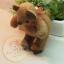 ตุ๊กตาหมีขนสั้นสีน้ำตาลขนาด 9.5 cm. - Niza thumbnail 3