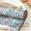ผ้าคอตตอนเกาหลีลายดอกไม้ thumbnail 5