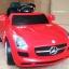 รถแบตเตอรี่เด็ก BenZ SLS สปอร์ตสุดเท่ห์ สีแดง / สีดำ thumbnail 1