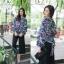 เสื้อผ้าเกาหลีขึ้นลายในตัว พิมพ์ลายดอกไม้ thumbnail 2