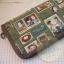 กระเป๋าสตางค์ใบยาวงานควิลท์ผ้าลาย Anne thumbnail 1