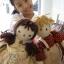 ตุ๊กตาผ้าเด็กผู้หญิงคันทรี่สูง 34 cm. - country doll ( girl ) thumbnail 7